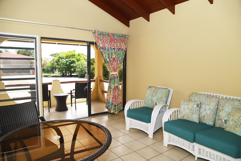 One Bedroom Suite with full Kitchen - Living Area