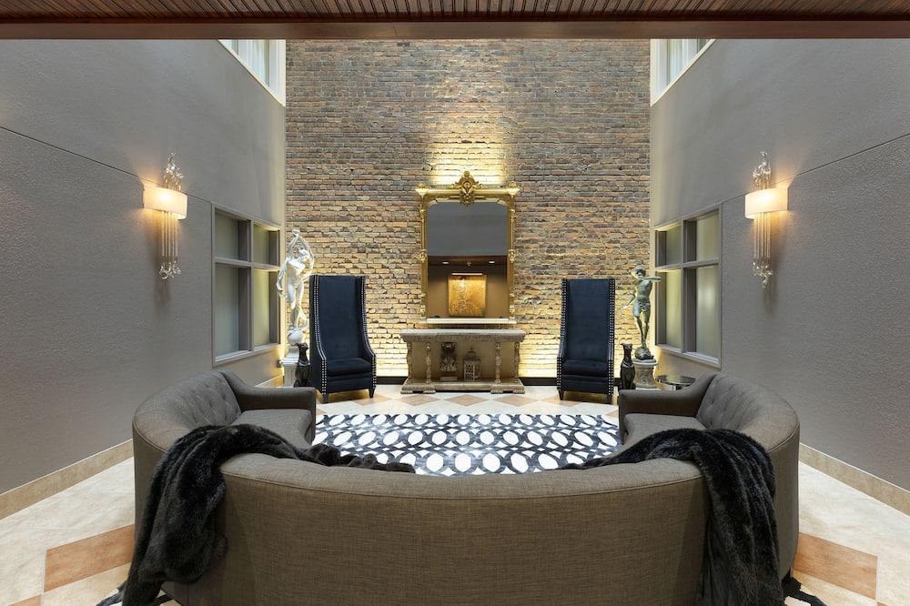 Presidential-suite - 1 kingsize-seng - terrasse - Opholdsområde