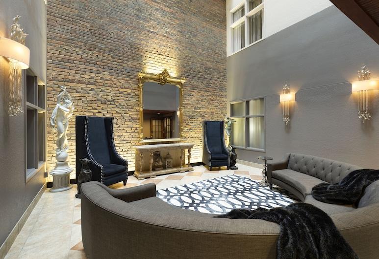 Des Lux Hotel, Des Moines, Apartament prezydencki typu Suite, Łóżko king, taras, Powierzchnia mieszkalna