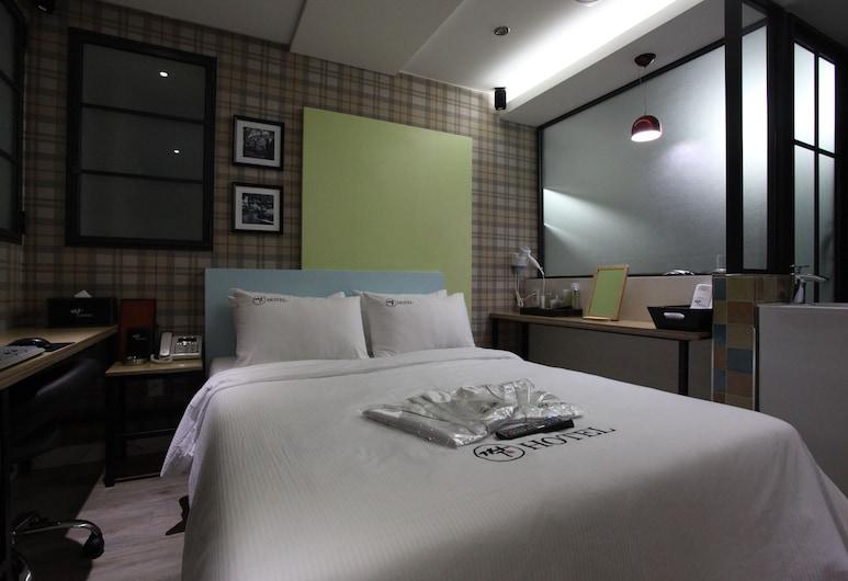 Hotel Zzac, Seoul, Standard dubbelrum, Gästrum