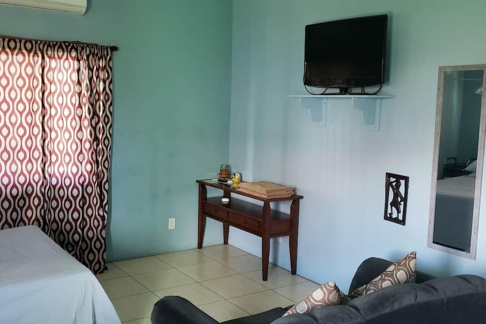 Apartment, 1 Bedroom, Balcony - Living Area
