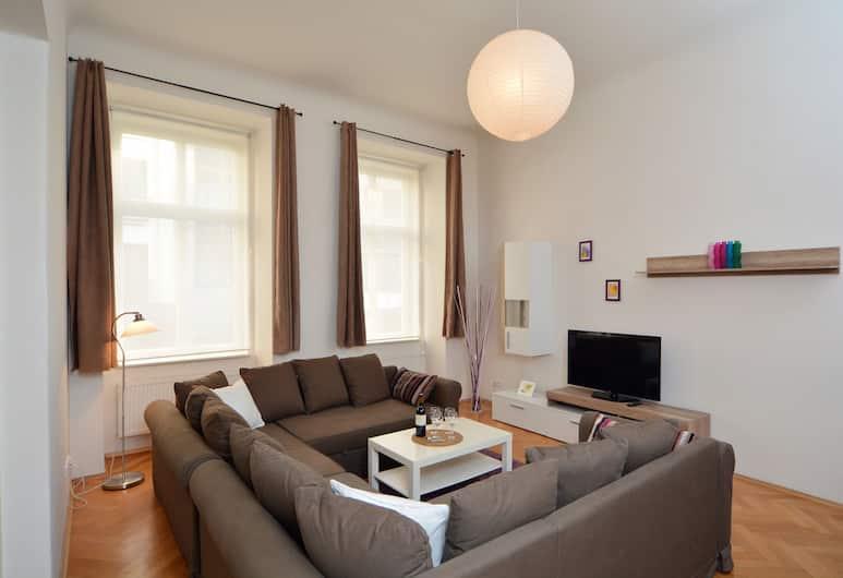 Mivos Prague Apartments, Praha, Pagerinto tipo numeris, 3 miegamieji, virtuvė, Svetainė