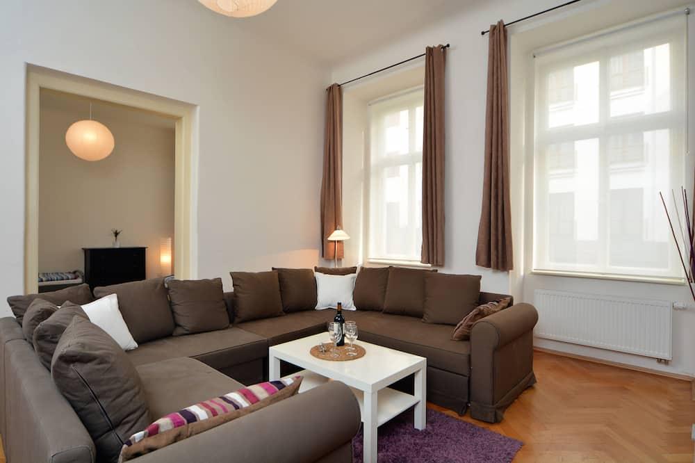 高級套房, 3 間臥室, 廚房 - 客廳