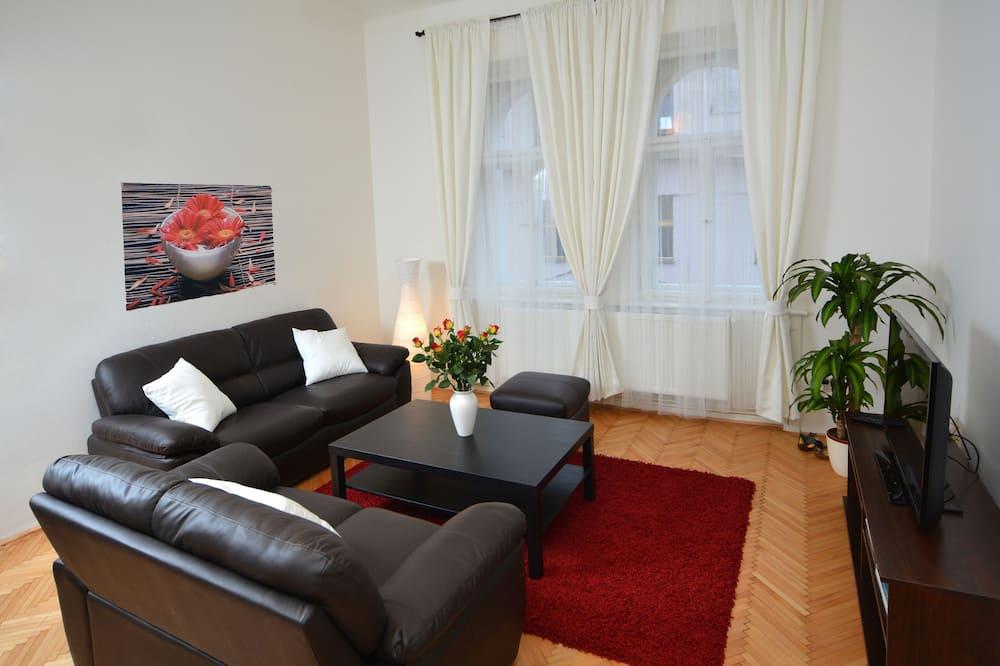 Suite – superior, 2 soverom, kjøkken - Oppholdsområde