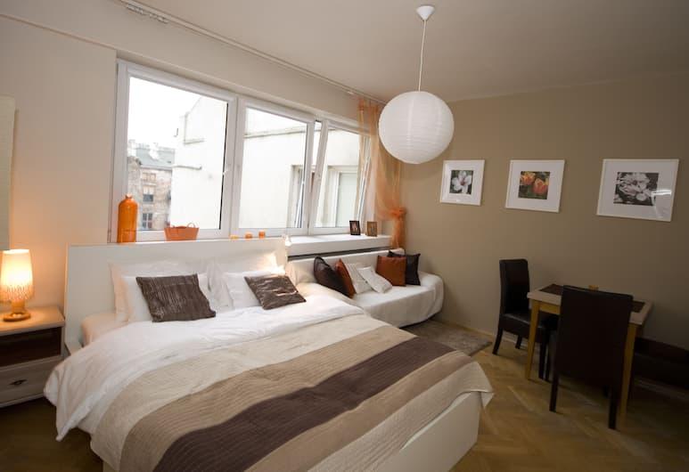 Warsawrent Apartments Centralna, Varšava, Komforta dzīvokļnumurs, divas guļamistabas, virtuve, Numurs