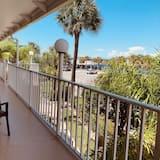 Suite, Uitzicht op het strand - Balkon