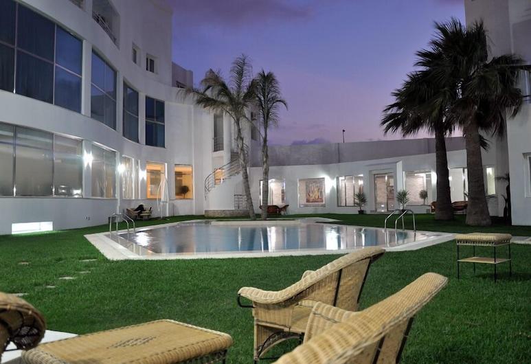 Hotel Chams, Tetouan, Hồ bơi ngoài trời