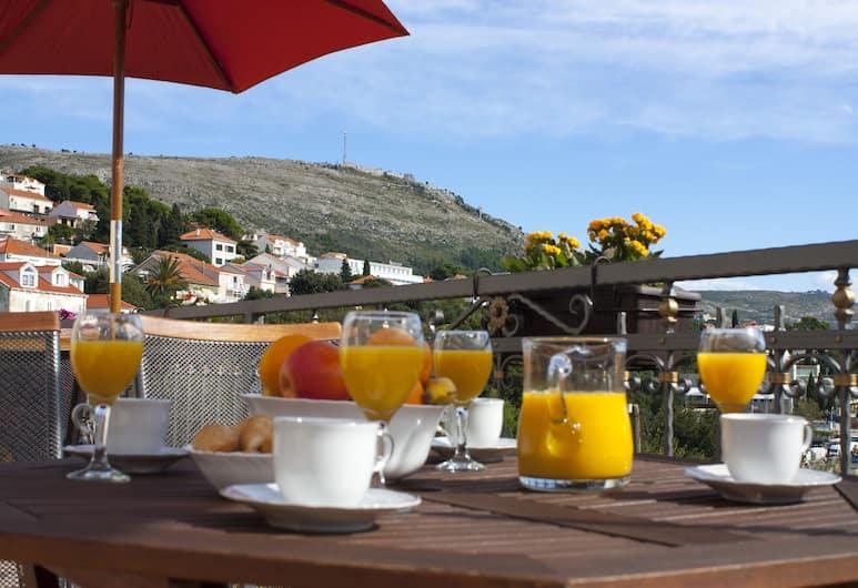 Green Park Apartments, Dubrovnik, Apartamento superior, 1 quarto, Varanda, Varanda