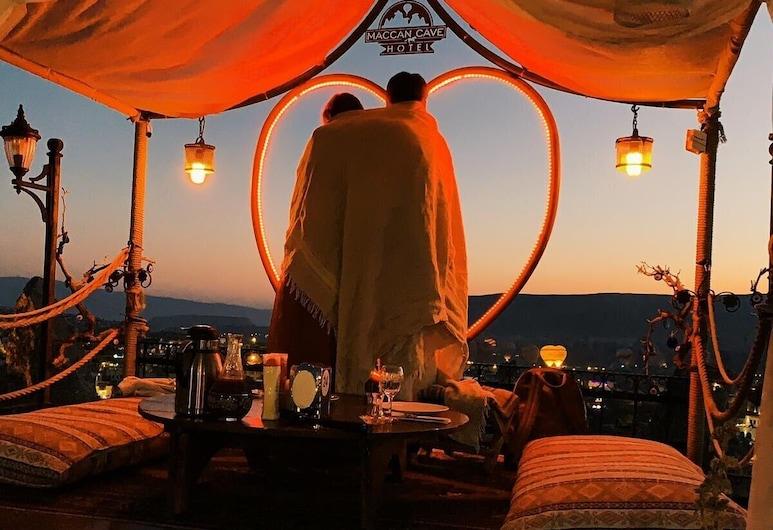 Maccan Cave Hotel, Nevsehir, Teres/Laman Dalam