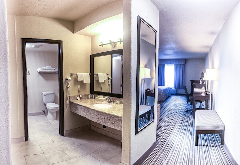 Quality Inn and Suites, Yorkton, Suite, 1 Tempat Tidur King dengan tempat tidur Sofa, non-smoking, Kamar Tamu