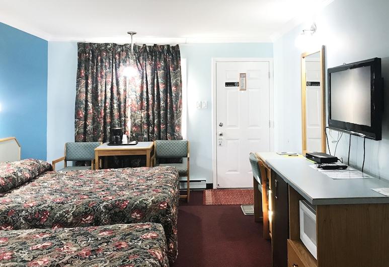 Lamplighter Motel , Kamloops, Oda, 2 Büyük (Queen) Boy Yatak, Oda