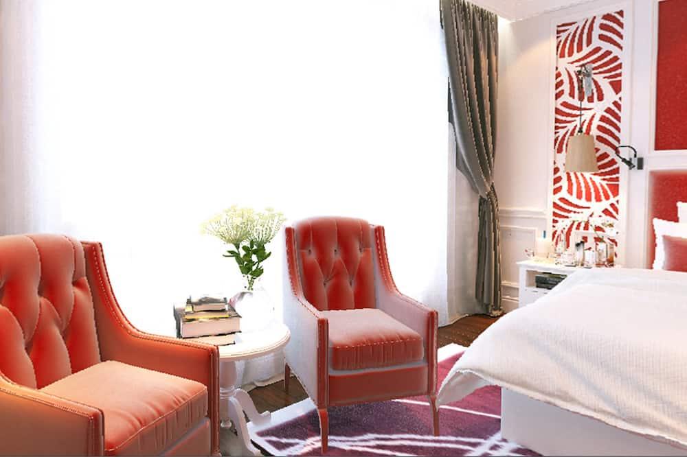 Presidential-Suite, 1 Queen-Bett, Balkon (Church View) - Wohnzimmer