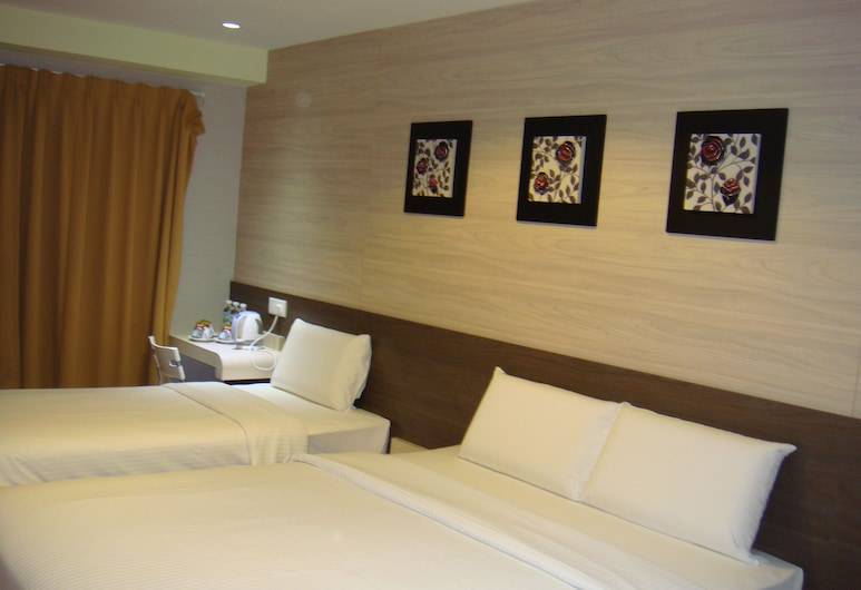 Alor Boutique Hotel, Kuala Lumpur, Family Room, Guest Room