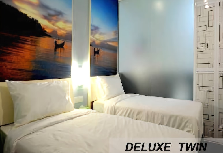 Smile Boutique Hotel, Kuala Lumpur, Deluxe Twin Room, Guest Room