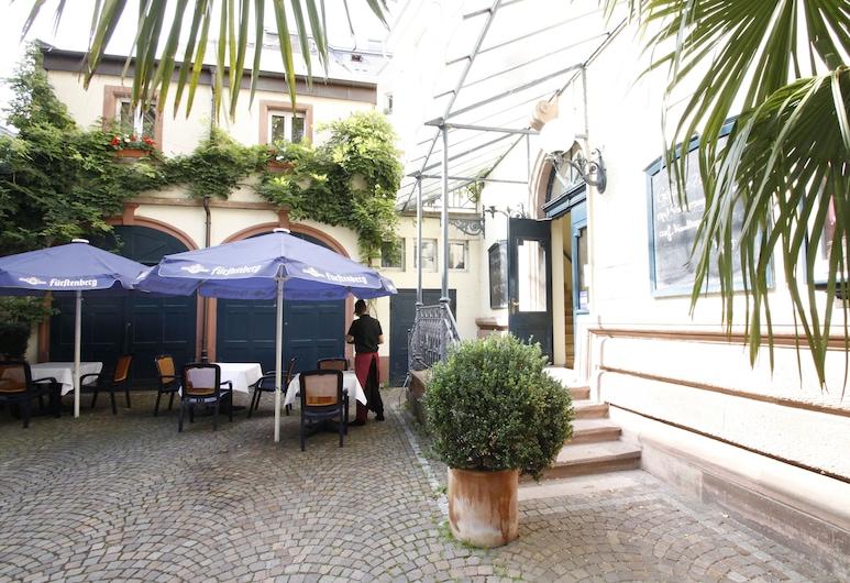 Hotel Schiller, Фрайбург-им-Брайсгау, Терраса/ патио