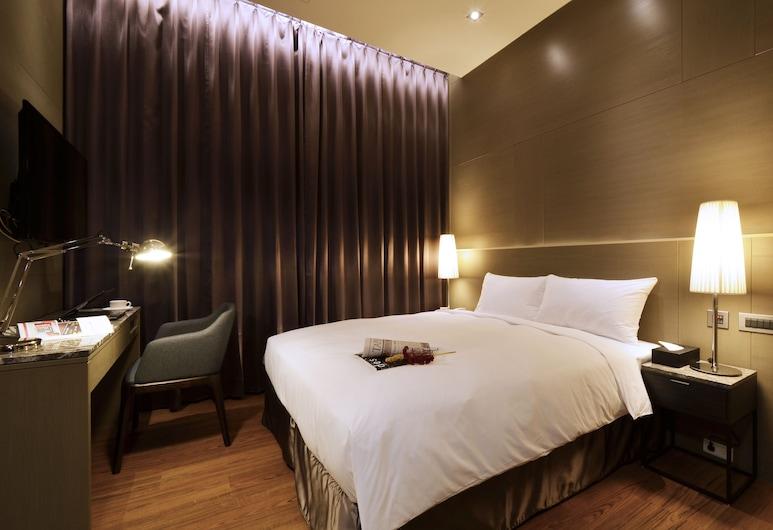 101 艾美琪旅店六星級背包客, 台北市, 標準雙人房, 1 張標準雙人床, 客房