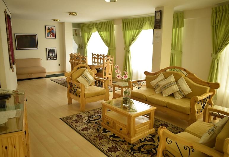 Almudena Apart Hotel, La Paz, Apartmán, 3 ložnice, Obývací pokoj