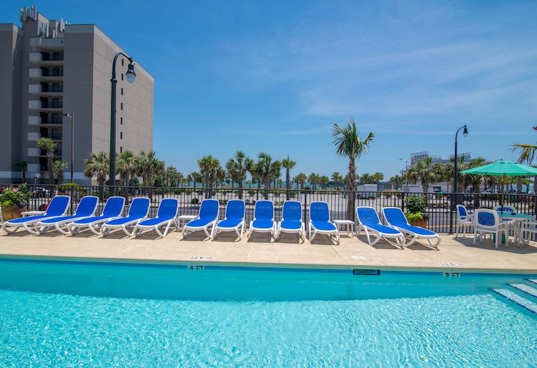 Darlington Inn, Myrtle Beach, Vanjski bazen