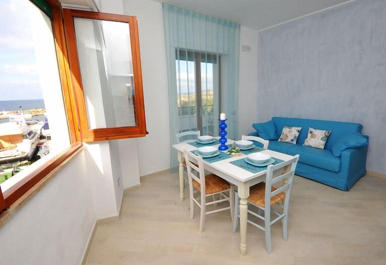 La Darsena, Gallipoli, Apartamento panorámico, 1 habitación, accesible para personas con discapacidad, vistas al mar, Zona de estar