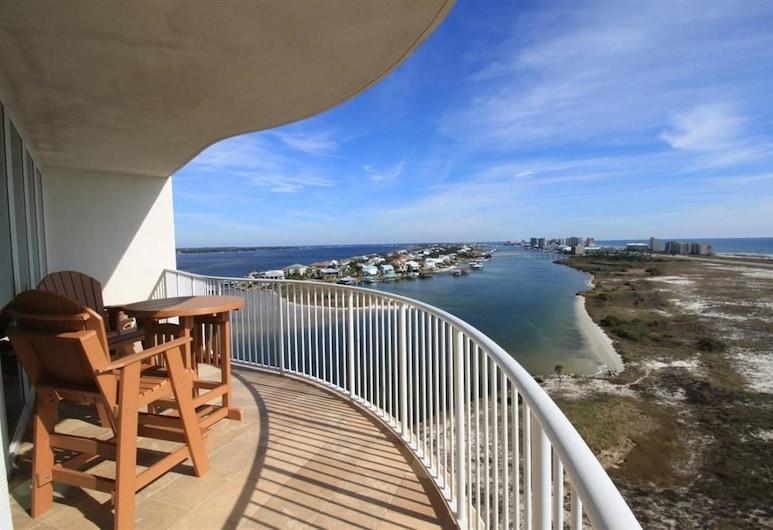 Caribe by Luxury Coastal Vacations, Pantai Orange , Luxury Condo, 3 Bedrooms, Balkoni