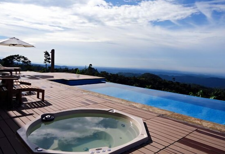 Finca Hamburgo, Tapachula, Außen-Whirlpool