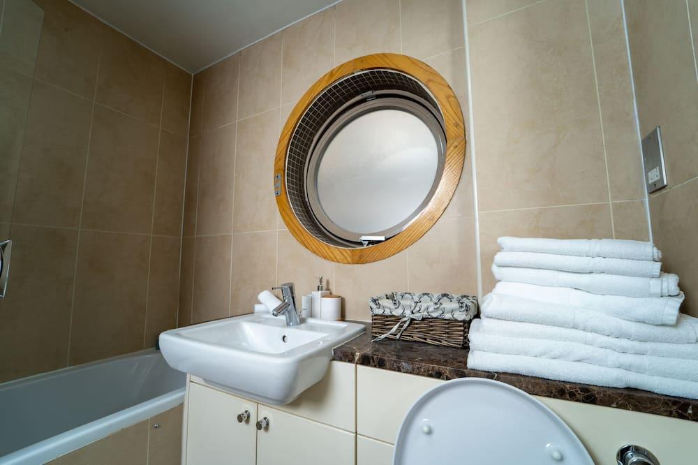 ラグジュアリー アパートメント バリアフリー 専用バスルーム - バスルーム