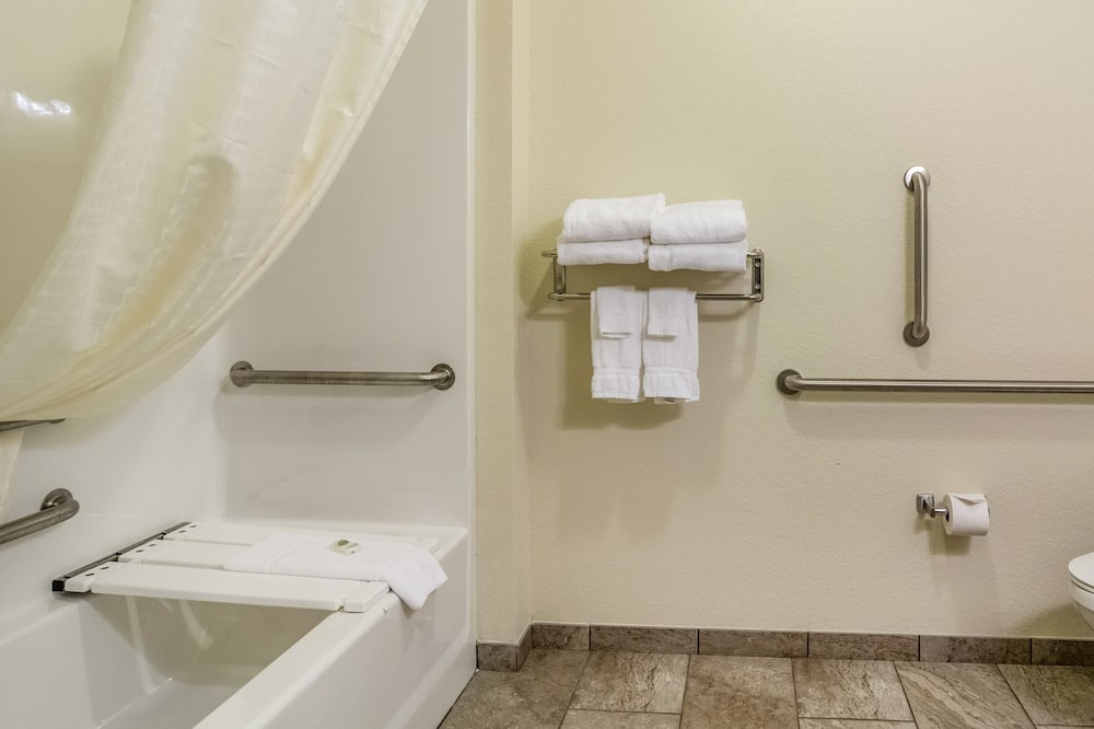 Room, 1 King Bed, Accessible Roll in Shower, Non Smoking - Bathroom