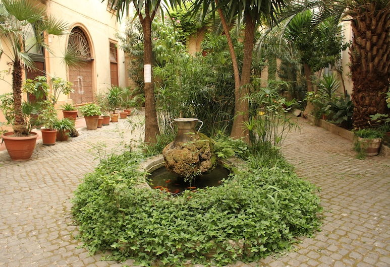 艾米之家, 羅馬, 住宿範圍