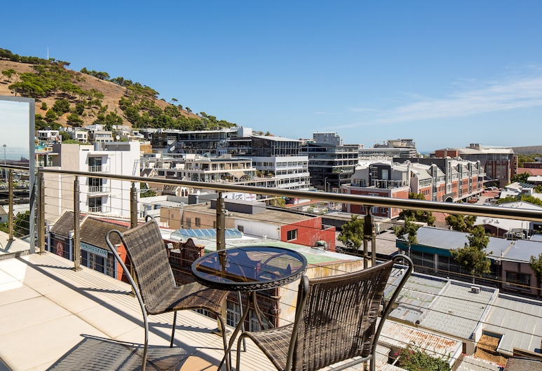 De Waterkant Luxury Apartments, Cape Town, Penthouse, 2 Bedrooms (Rockwell), Balcony