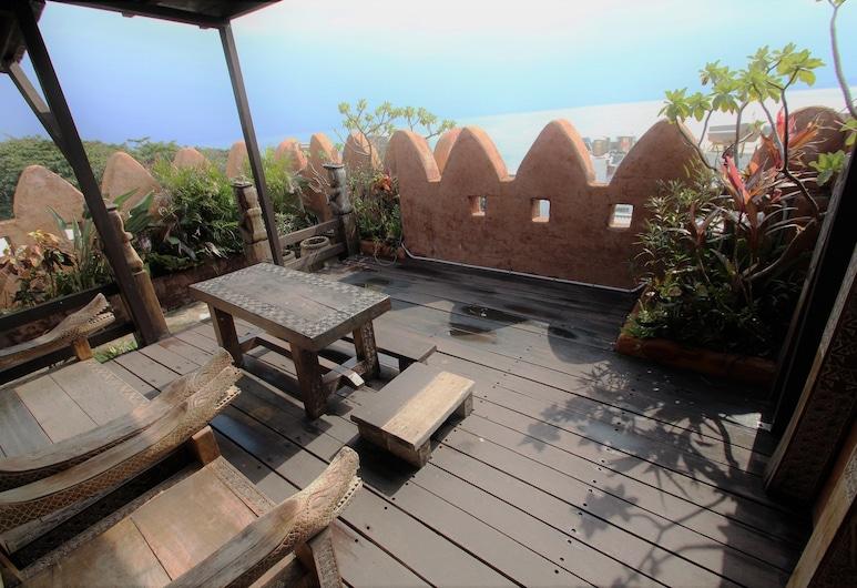 Afei Surf Inn Hall 4 - NANU, Manzhou, Deluxe Double Room, Balcony, Ocean View, Balcony