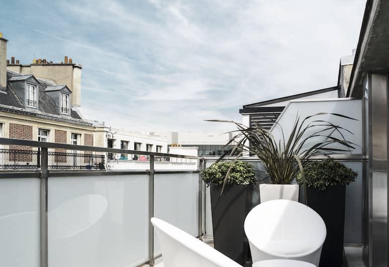 Hotel EKTA, Paris, Prestige Room Terrace, Terrace/Patio