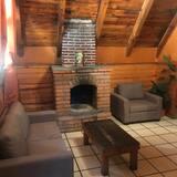 Chalet, 1 habitación, chimenea - Sala de estar