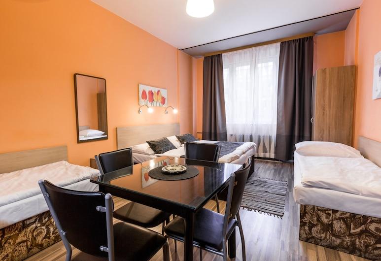 Rezidence Davids, Prague, Classic Quadruple Room, Kitchenette, Guest Room