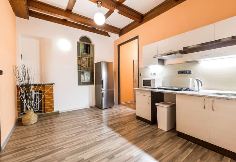Rezidence Davids, Prag, Economy Oda, Ortak Banyo, Odada Küçük Mutfak
