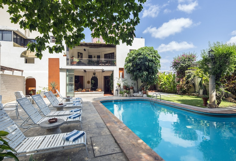 Hotel Casa del Balam, Mérida, Εξωτερική πισίνα