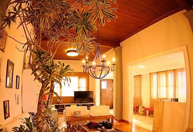 Bahia Prime Hostel, Salvador, Salon de la réception