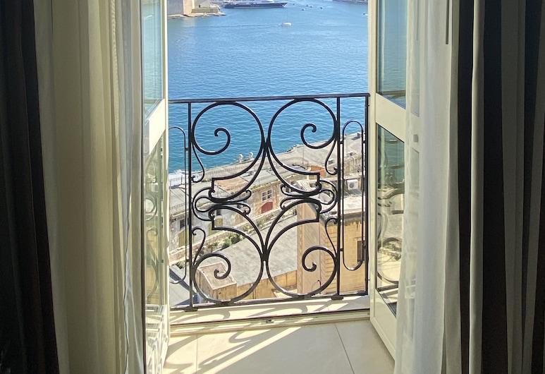 Grand Harbour Hotel, ולטה, חדר סטנדרט זוגי או טווין, נוף לנמל, חדר אורחים