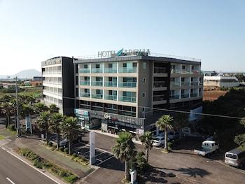 Mynd af Hotel Aroha í Seogwipo