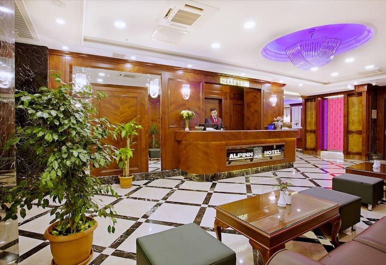 Alpinn Hotel - Special Class, Istanbul, Reception