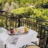 Driepersoonskamer, uitzicht op bergen - Balkon
