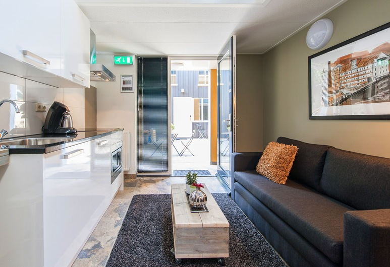 Allure Garden Apartments, Amsterdam, Dupleks (3 person Maisonette), Værelse