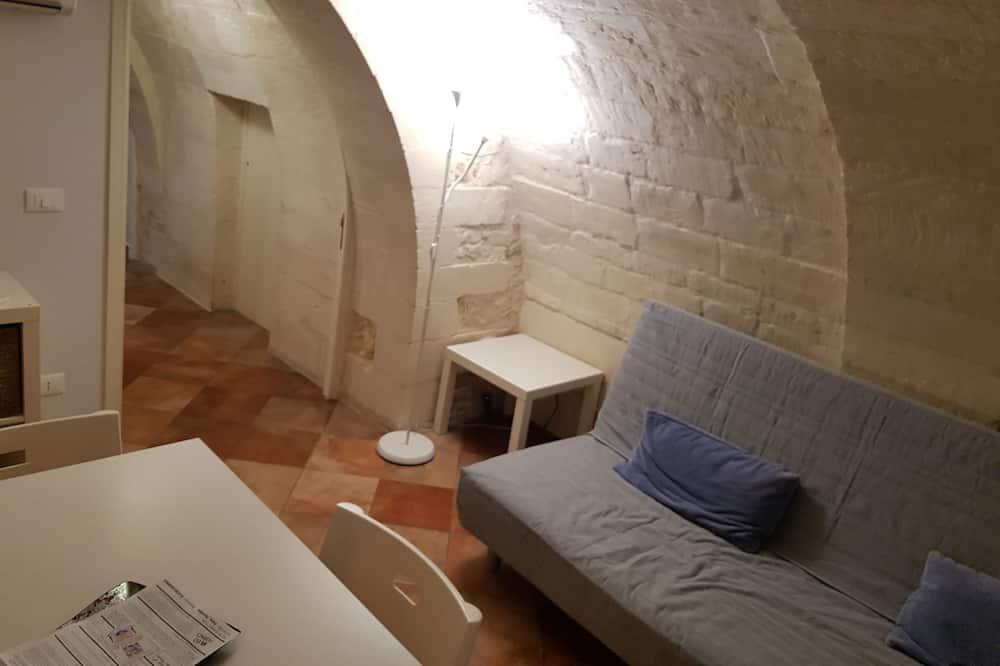 Izba typu Comfort s dvojlôžkom alebo oddelenými lôžkami, 1 spálňa - Obývačka