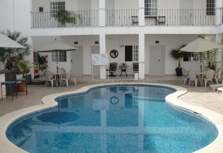 Hotel MaríaJose, Mérida, Εξωτερική πισίνα