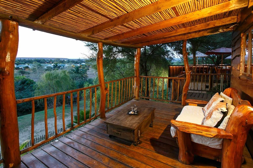 Cottage panoramico, 1 camera da letto, vista montagna - Balcone