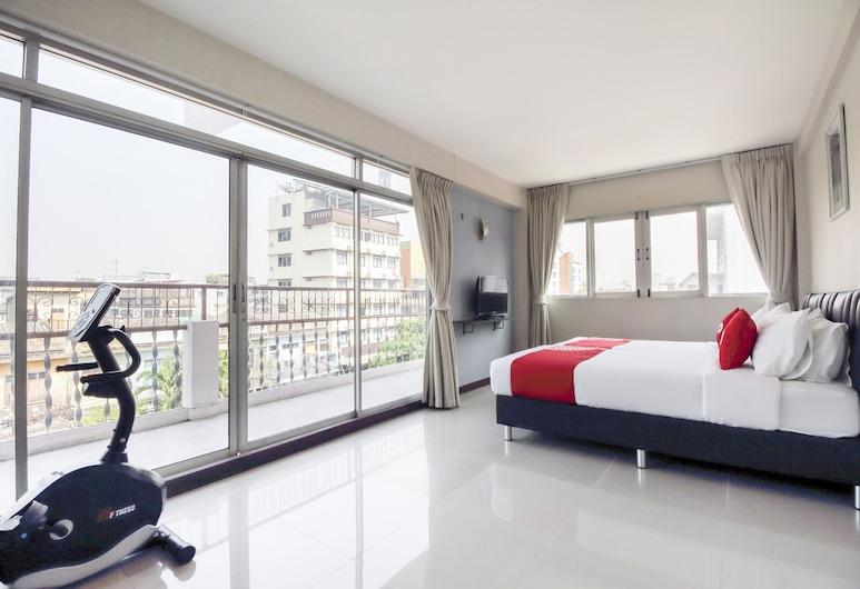 OYO 537 ナ バンランプー ホテル, バンコク, デラックス ツインルーム, 部屋
