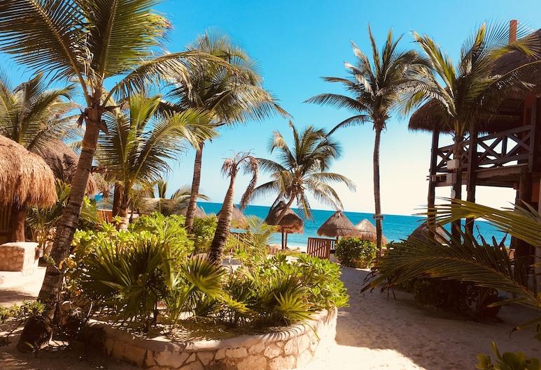 Hotel Calaluna Tulum - Adults Only, Tulum, Comfort Room, Partial Ocean View , Vaade veekogule