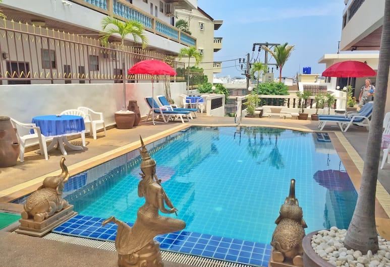 Blue Sky Residence, Patong, Piscine en plein air