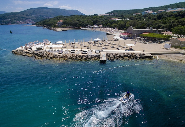 Solitudo Sunny Camping Mobile Homes, Dubrovnik, Beach