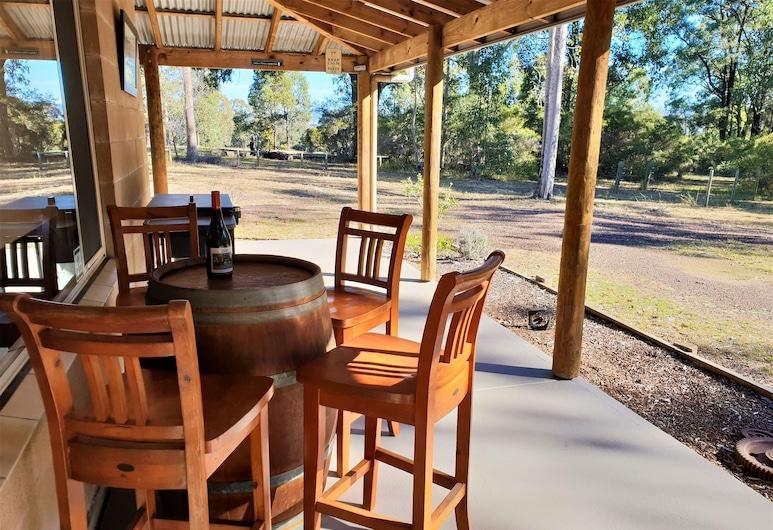 Woodlane Cottages, Nulkaba, Casa de Campo Panorâmica, 4 Quartos (Currawong), Terraço/Pátio Interior