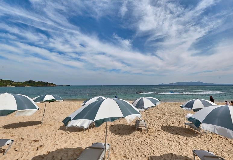 Miyuki Hamabaru Resort, Onna, Pláž